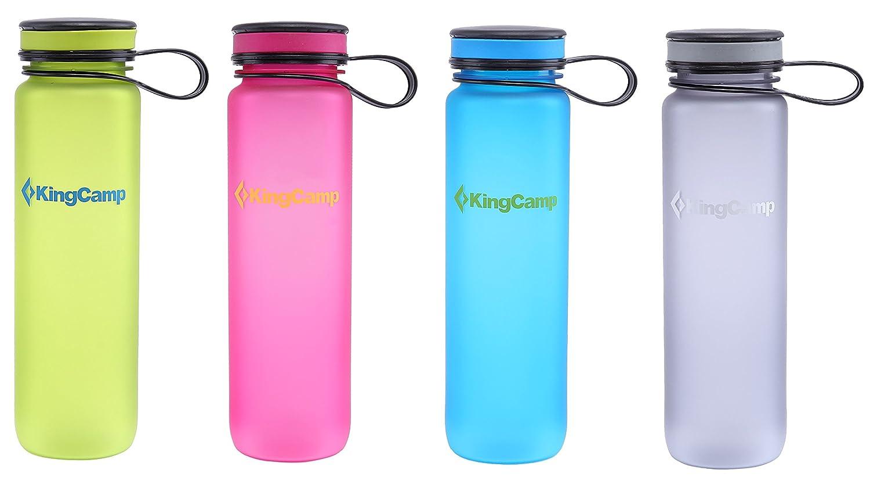 KingCamp 1000 ml Botella de Agua Tritan Libre de BPA Boca Ancha Antigoteo Exterior Botella para Camping Deportes o Gimnasio, Verde: Amazon.es: Deportes y ...