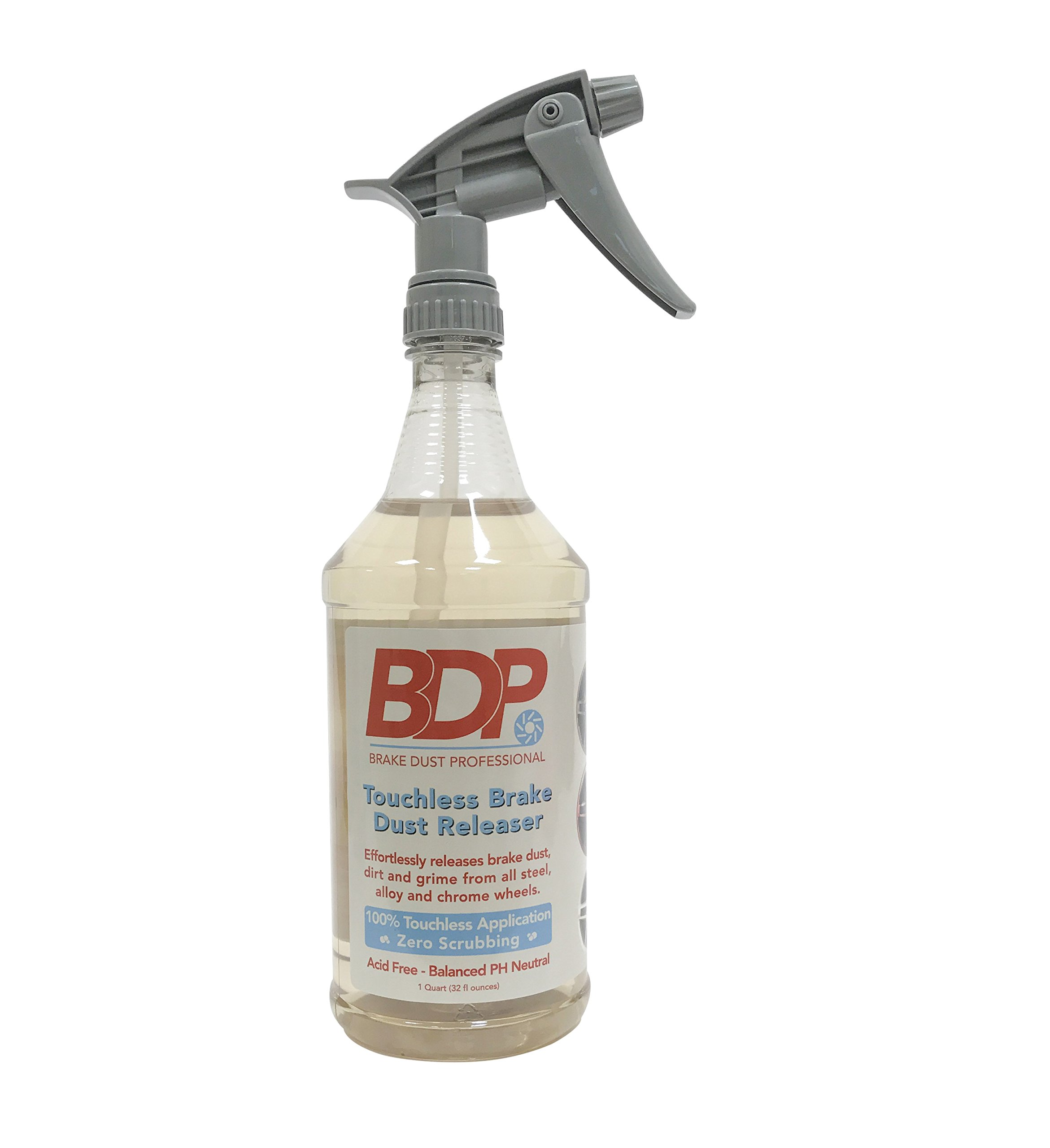 DipYourCar Brake Dust Pro 32oz - Touchless Wheel Cleaner, Safe On All Wheels! Quickly Removes Brake Dust and Grime - Spray On and Rinse Off!