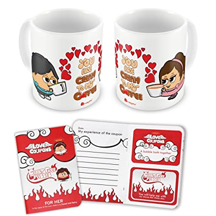 buy indigifts valentine day 7 love coupons with guilt free passes