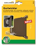 Schellenberg 50152 Aufschraubwickler aufklappbar Mini, braun