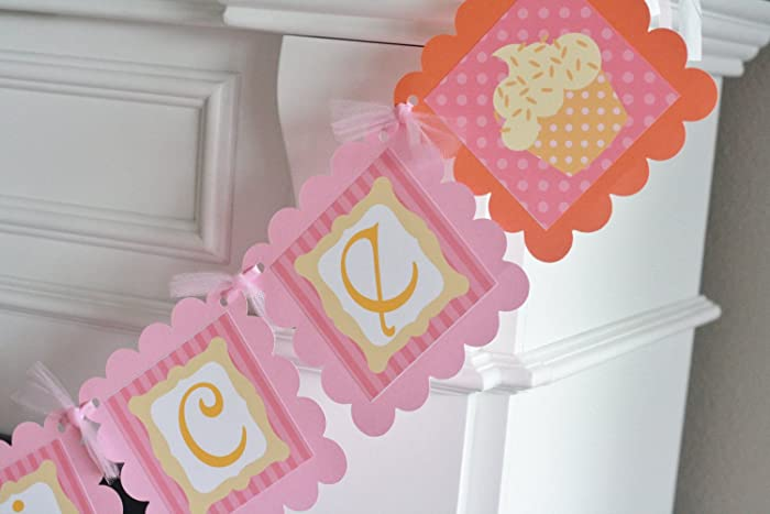 Amazon Pink And Orange Stripe Dot Sugar Spice Cupcake