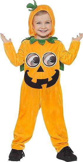 Smiffys Smiffys-21496T1 Disfraz de Calabaza para niño pequeño ...