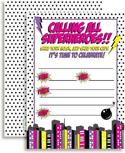 Amazon.com: Super Hero GIRL Fiesta de cumpleaños ...