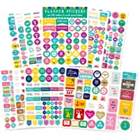 Planner Stickers 650, Productivity Mini Icons for Adults Calendar – Work, Daily to Do, Budget, Family, Holidays…