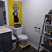 Amazon.com: Yunhigh Taburete de inodoro, taburete de inodoro ...