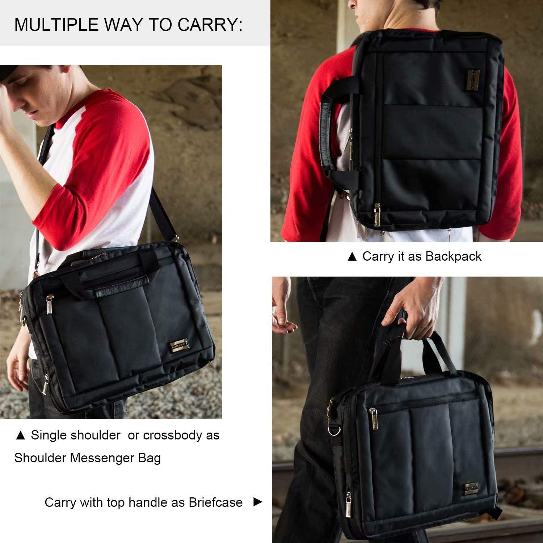13.3 14 Inch 3 in 1 Business Briefcase Laptop Backpack Messenger Bag for Lenovo
