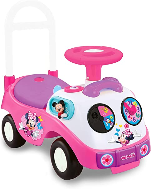Amazon.com: Cochecito de paseo de Minnie, de Kiddieland ...