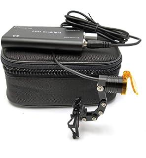 Amazon com: BR Surgical BR900-3300 Fiberoptic Xenon Headlight