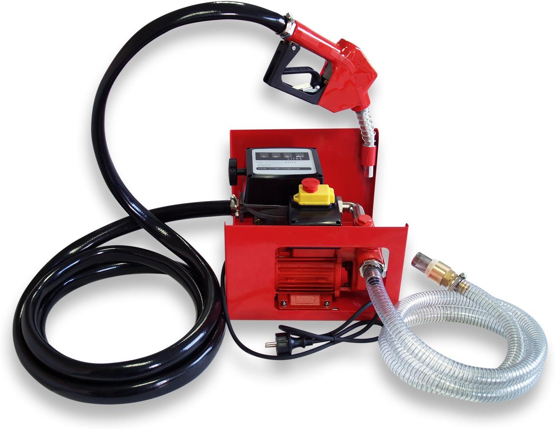 Bomba autocebante para Bio Diesel y gasóleo con 230V 550W 50l/min con Pistola Maquinaria Calefacción