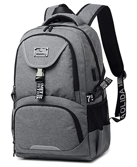 College Backpack,Business Travel Backpack, 15.6 in Laptop Backpack with USB Charging Port,