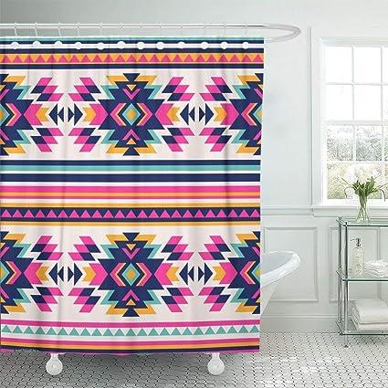 a273d5a83013b Amazon.com: Wlioohhgs Pink Neon Color Tribal Navajo Aztec Abstract ...