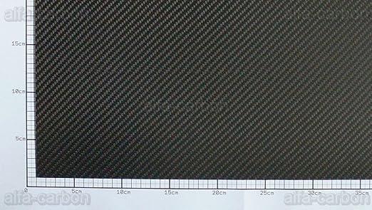 Plaque carbone 1/mm x 600/mm x 400/mm carbone Plateau satin/é