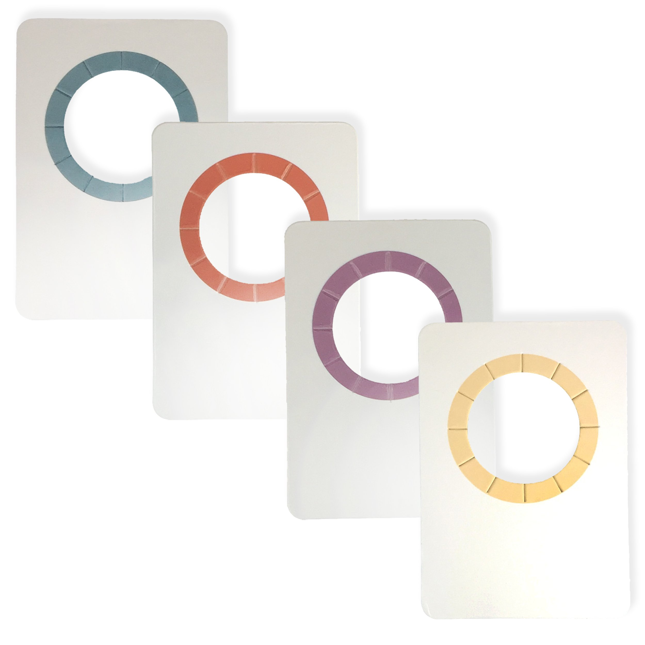 SOMM Wine Bottle Tags Paper - Wine Tags (4 Colors / 60 Count)