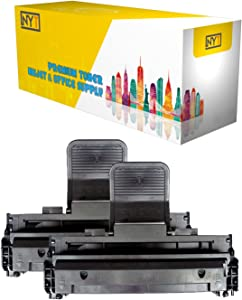 NYT Compatible High Yield Toner Cartridge Replacement for 310-6640 Dell 1100 for Dell 1100 (Black,2-Pack)