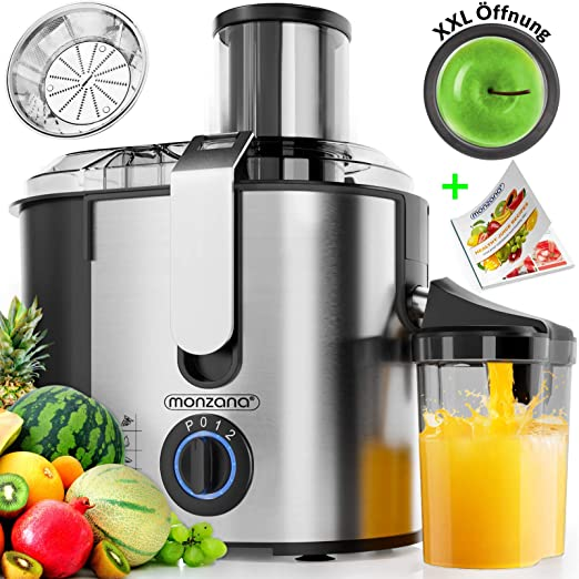 Deuba 101635 - Licuadora para Frutas y Verduras, Exprimidor ...