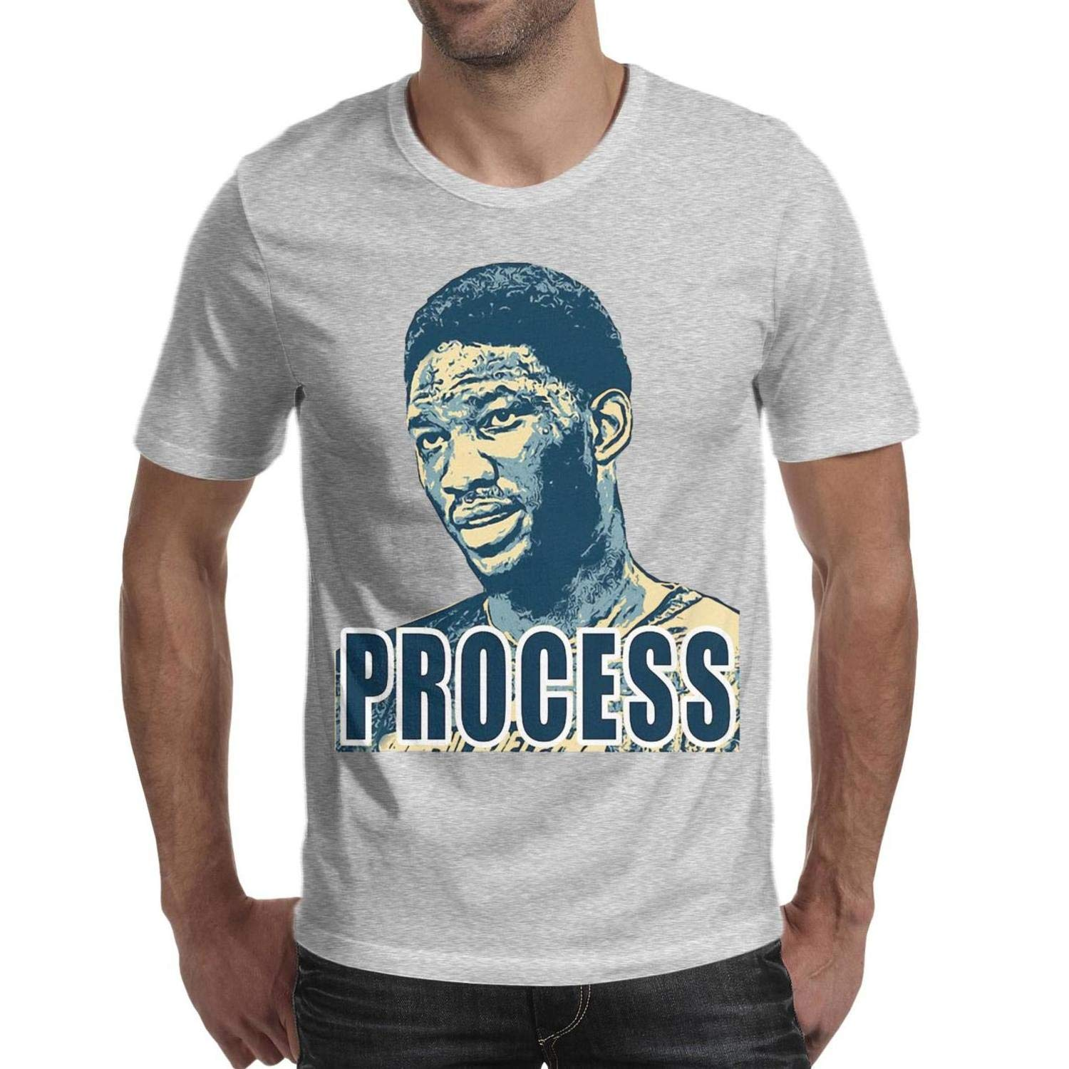 Basketball Star Oneck Short Sleeve Tshirts Grey Printing T For