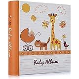 Giraffe Baby 15cm x 10cm Slip-in Photo Album