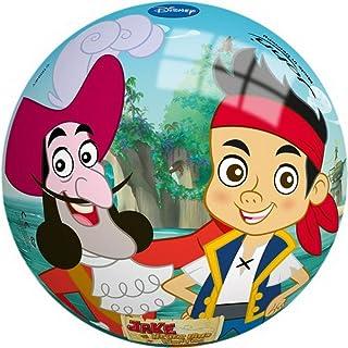 John 50437–Jake e i Pirati dell' Isola Che Non c' è Pirati Parati Ball Pirata, 9Pollici 9Pollici John GmbH