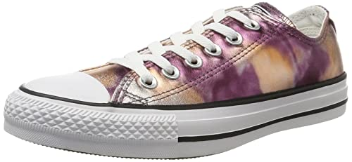 Unisex Adults CTAS Dusk Pink/White/Black Hi-Top Trainers, Mehrfarbig (Dusk Pink) Converse