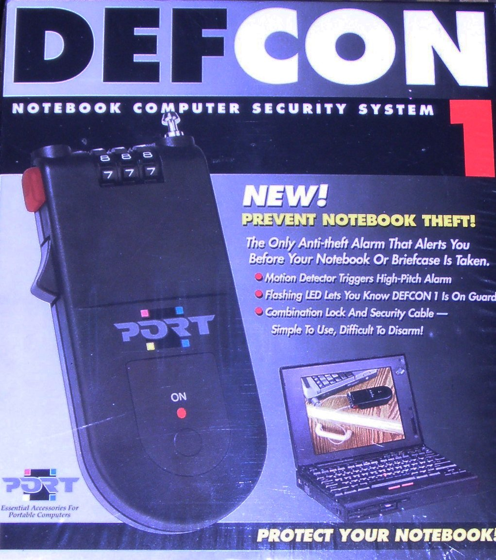 Defcon 1 Notebook Computer Security System (SEL0400)