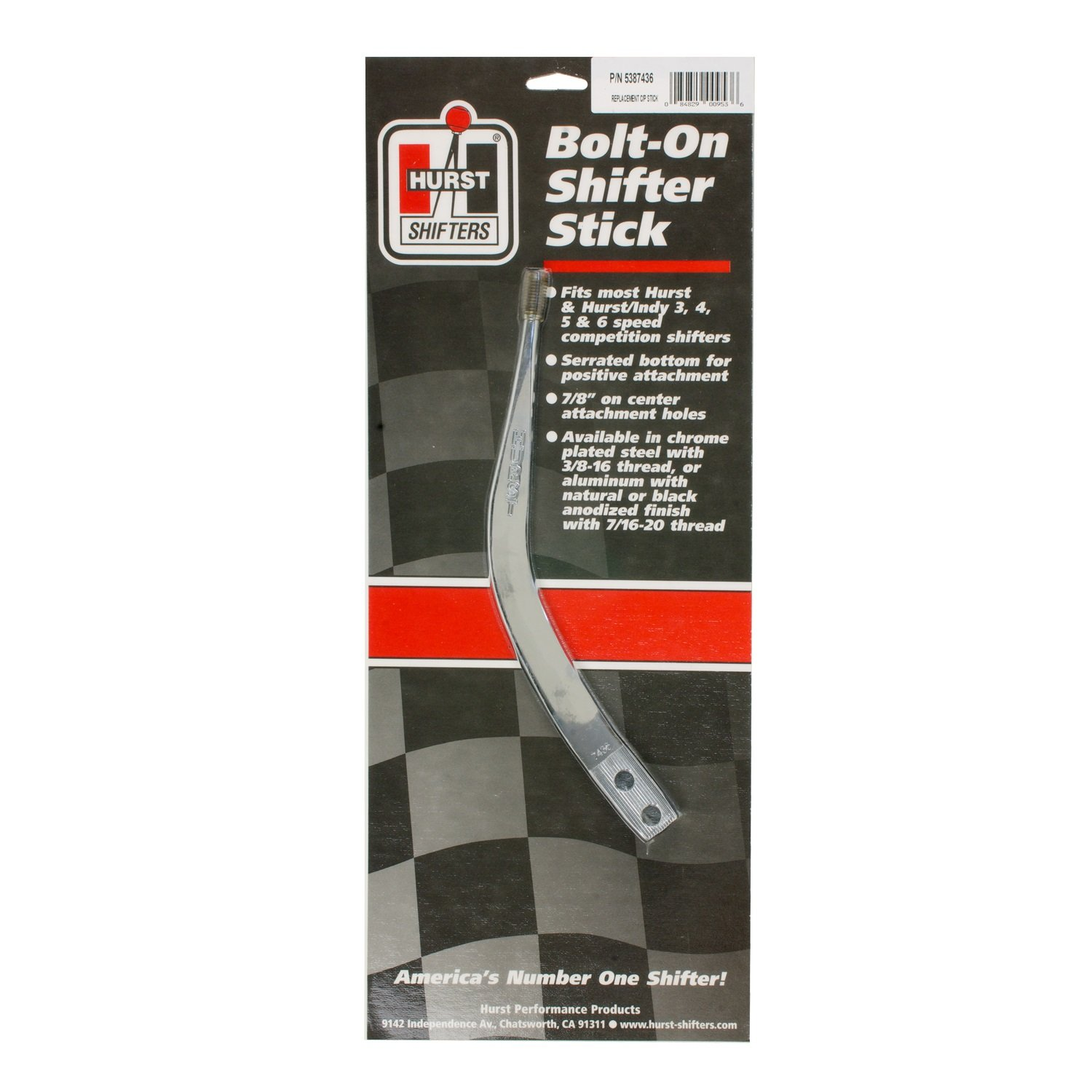 Hurst 5386900 Competition/Plus Replacement Shifter Stick