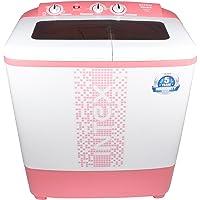 Intex 6.5 kg Semi-Automatic Top Loading Washing Machine (WMS65ST, Pink)