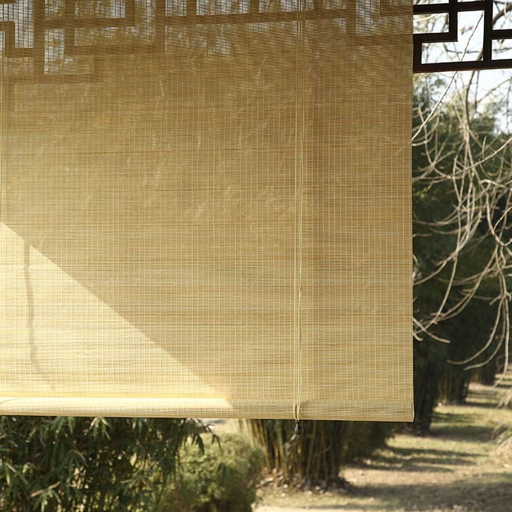 LNDDP Exterior con Ganchos, persianas Opacas Exteriores para Patio con pérgola en el Patio Trasero, fácil Arreglar, 70/90/110/130 cm Ancho: Amazon.es: Deportes y aire libre