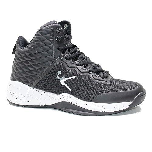 Kobe Ginnastica Basket Alte Sneakers Nero Legea Unisex Scarpe Uomo D2H9EI