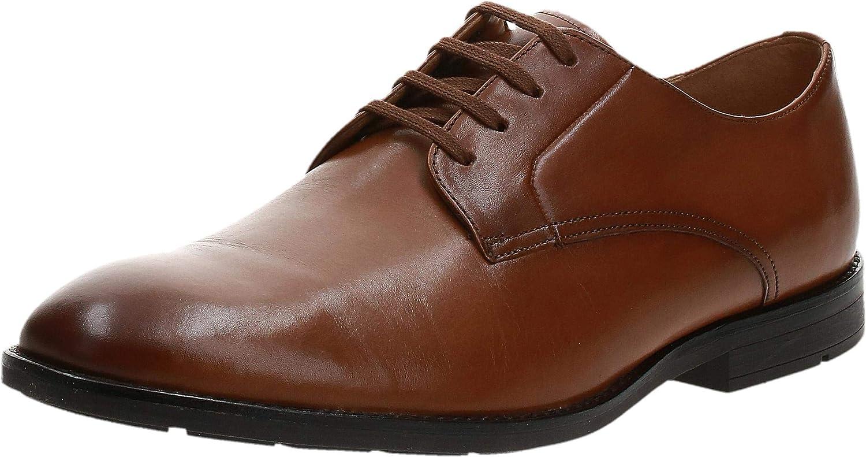 Gorgeous Clarks Men's wholesale Ronnie Walk Brown Leather Derbys Tan