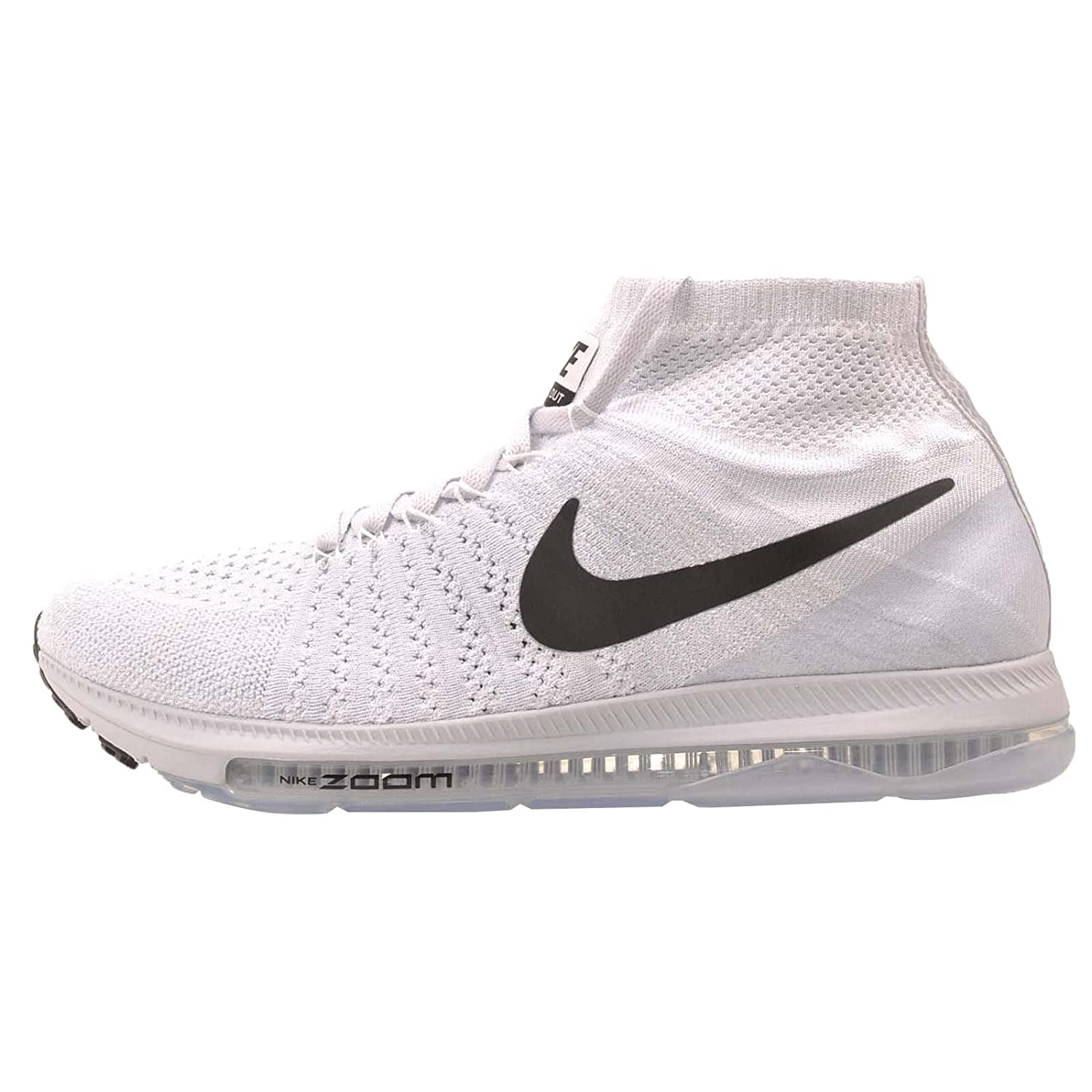 2279b7e2e9287 Nike Men s Zoom All Out Flyknit 844134 100 (11. 5)  Buy Online at Low  Prices in India - Amazon.in