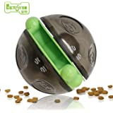 Dog Treat Ball Dispenser EETOYS IQ Puzzle Toy Collection Treat Dispensing Wobbler Ball Toy