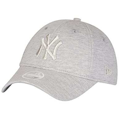 83830b32e1f New Era Womens 9FORTY York Yankees Baseball Cap - Essential Jersey - Grey   Amazon.co.uk  Clothing