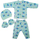 Littly Winter Baby Suit, 4 Piece Set