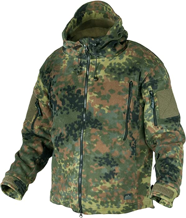 f708c2b9e58 Helikon Patriot Fleece Jacket Flecktarn size S at Amazon Men s ...