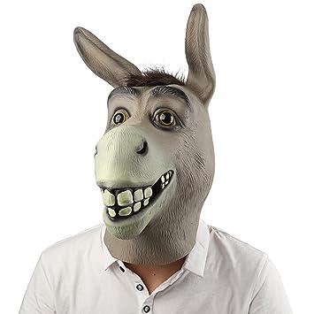 Máscara de Cabeza, Supmaker Animal de Látex de Fiesta de Traje Lujo de Halloween de