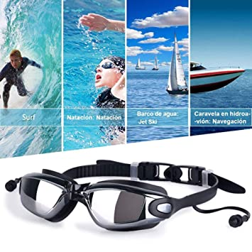 318866d207dd Buy Inalfonso Swimming Goggles - Professional Anti-Fog Swim Goggles ...