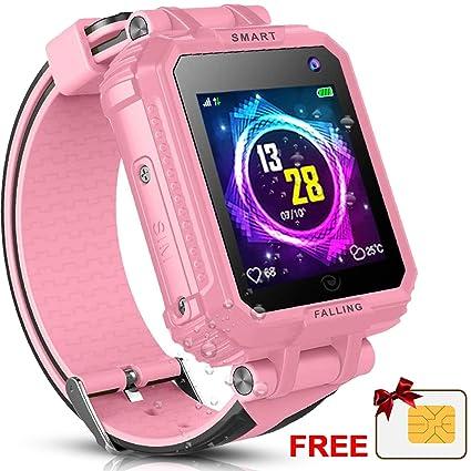 Amazon.com: 2019 Kids Smart Watch Phone GPS Tracker Watch ...