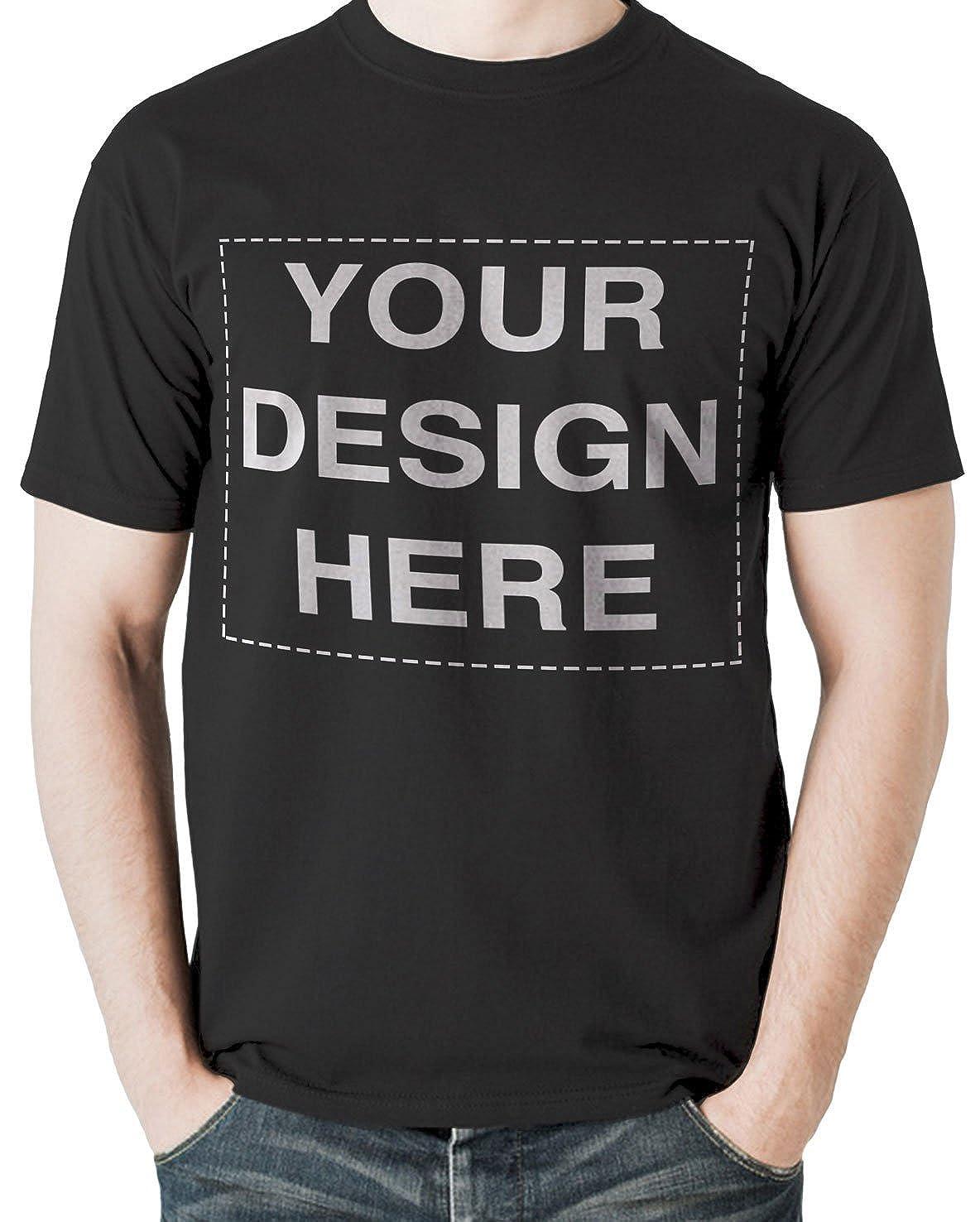 Amazon Custom T Shirt Design Your Own Text Image Adult Unisex