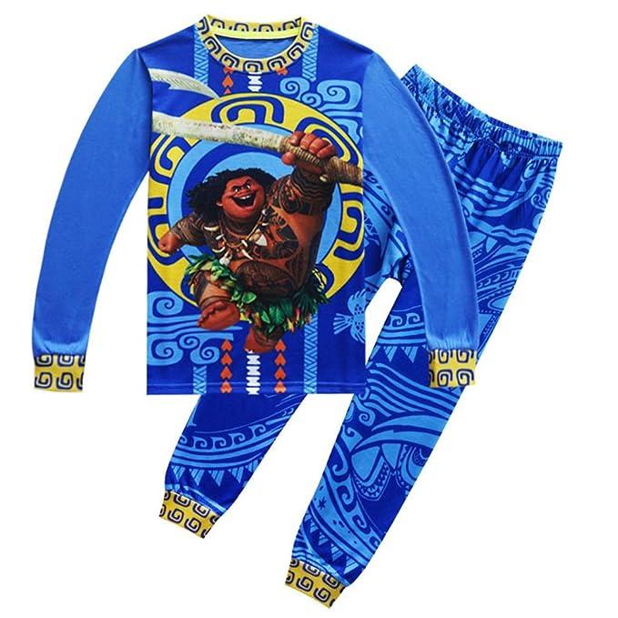 Amazon.com: WNQY Moana Maui - Camisa de manga larga para ...