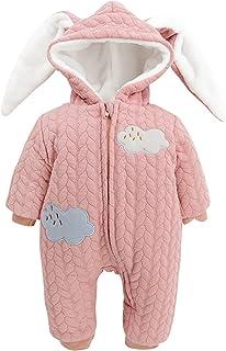 De feuilles Chic-Chic Baby Girls Boys Cute Romper Jumpsuit Thick Warm Snowsuit Playsuit Clothing Outwear
