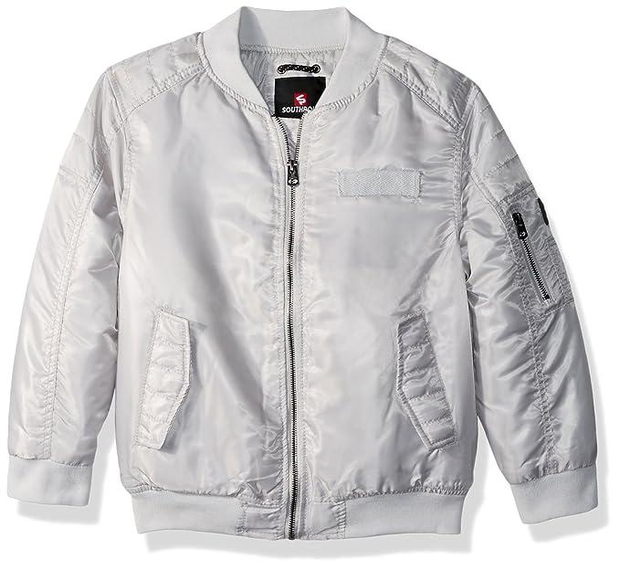 924e46c31 Amazon.com  Southpole Boys  Kids Ma-1 Bomber Flight Jacket with ...
