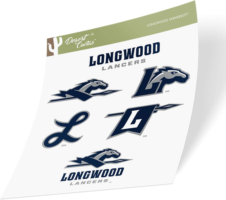 Longwood University Lancers NCAA Vinyl Decal Laptop Water Bottle Car Scrapbook Sticker - 003