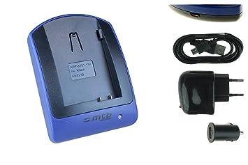 Cargador (USB/Coche/Corriente) para Nikon EN-EL15 / 1V1, D500, D600, D610, D750, D800, D7000, D7100, D7200