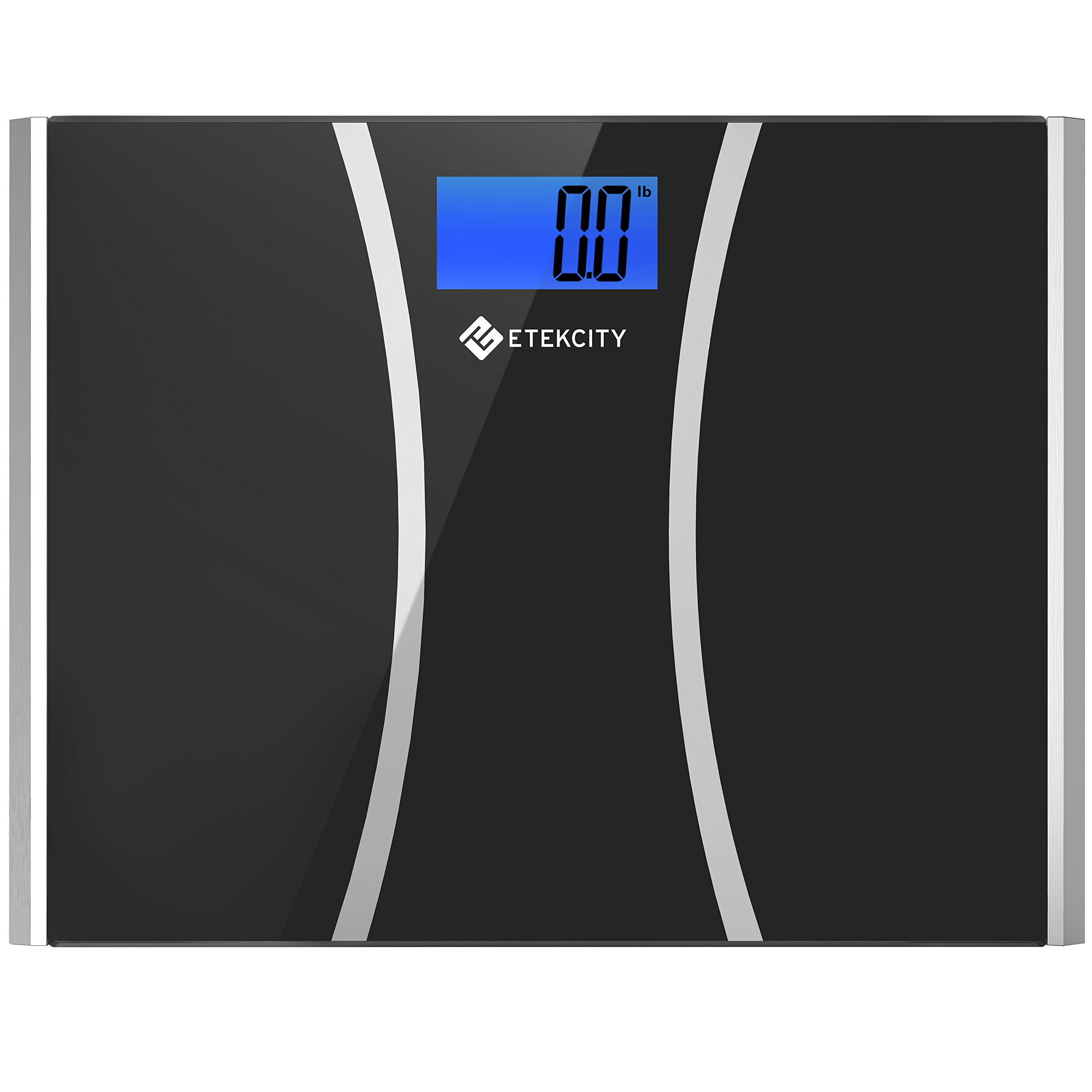Etekcity Digital Body Weight Bathroom Scale with Ultra Wide Platform and Easy-to-Read Backlit LCD, 440-Pounds Scales