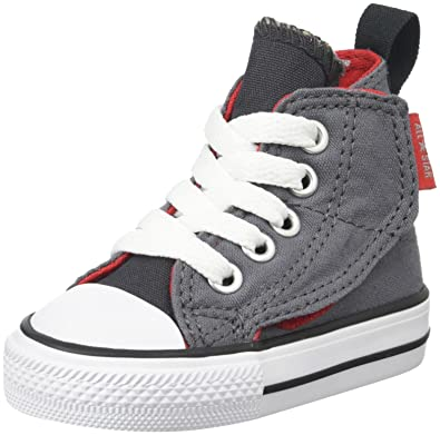 Converse Kids Baby Boy's Chuck Taylor All Star Simple Step Hi (Infant/ Toddler)