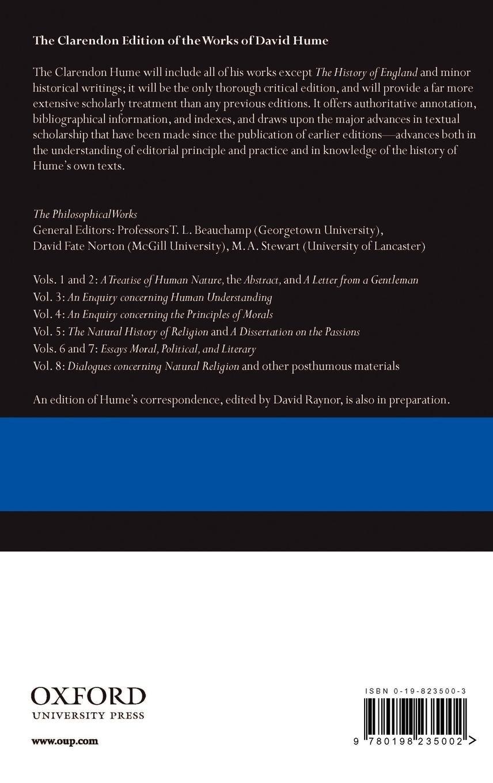 dissertation sur les passions david hume 1739