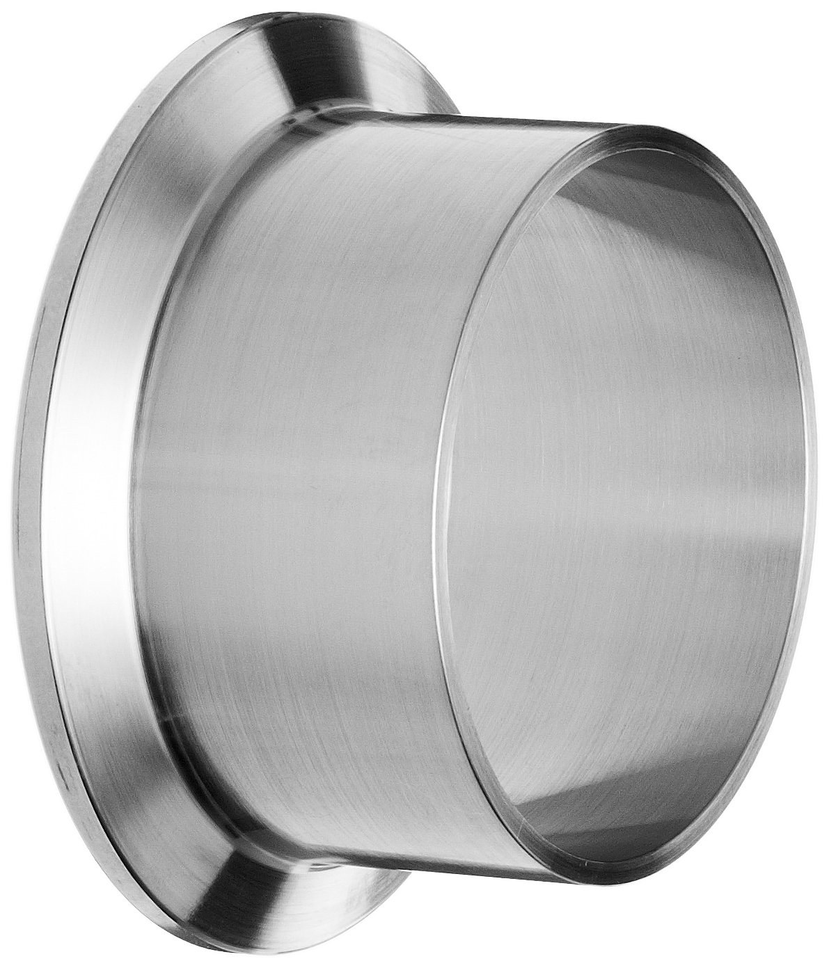 Dixon Valve & Coupling L14AM7-G200 Stainless Steel 304 Sanitary Fitting, Long Weld Clamp Ferrule, 2'' Tube Outer Diameter (Pack of 10)