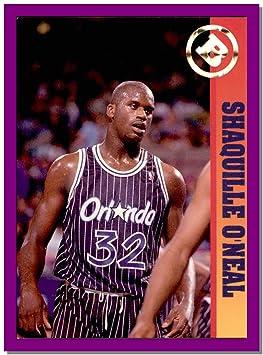 Shaquille ONeal ORLANDO Magic 1992 Ballstreet News Basketball Card LSU TIGERS
