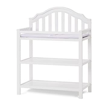 Child Craft Penelope Changing Table With Pad Matte White