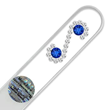 Lima De Uñas De Cristal Decoradas Con Cristales De Swarovski